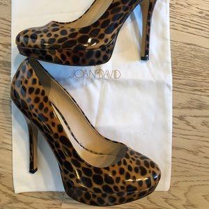 Joan & David Shoes - Joan & David Leopard Pumps